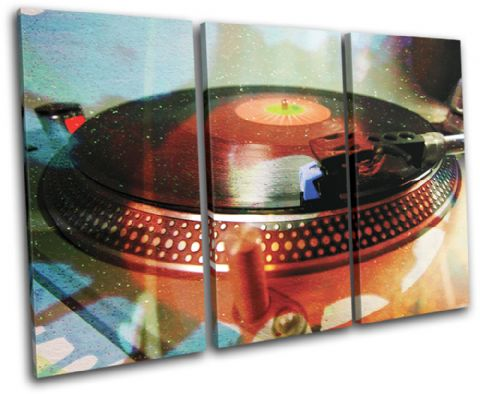Turntable Decks DJ Club - 13-1415(00B)-TR32-LO
